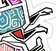 Bright Dragon Linework Sticker