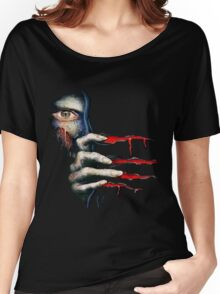 Capcom Resident Evil 2 Classic RARE Design. 100% Redrawn In Adobe Ilustrator Vector Format. Women's Relaxed Fit T-Shirt