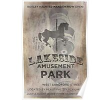 Lakeside Amusement Park Poster