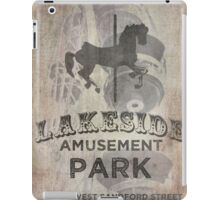 Lakeside Amusement Park iPad Case/Skin