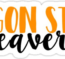 Oregon State Beavers Sticker