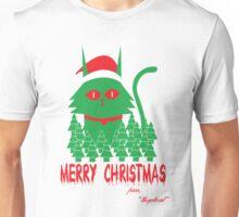 Merry Christmas Yule Cat Unisex T-Shirt