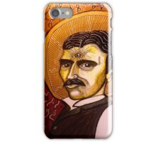 Nicola Tesla, patron of vision iPhone Case/Skin