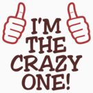 I m the crazy one by artpolitic