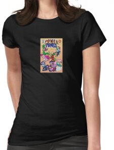 Power Ponies Assemble! Womens Fitted T-Shirt