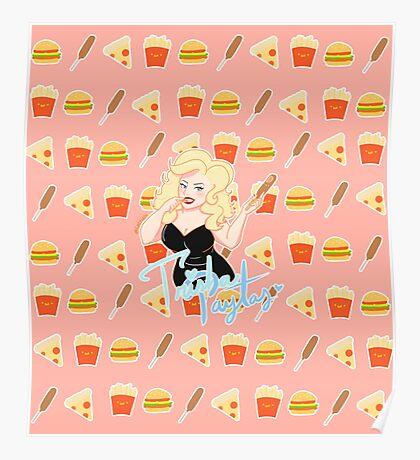 Trisha Paytas and Corn Dog Poster