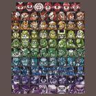 Mega Man Robot Masters Rainbow by momboy