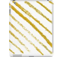 New! Stylish golden stripes. New art in shop iPad Case/Skin