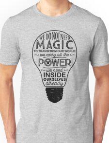 Official Lumos Be the Light T-shirt Unisex T-Shirt