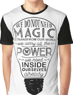 Official Lumos Be the Light T-shirt Graphic T-Shirt