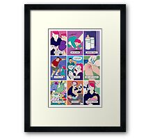 Dungeons and Dragons for Parents Framed Print