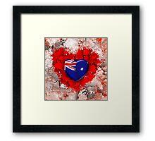 Love Australia .2 Framed Print