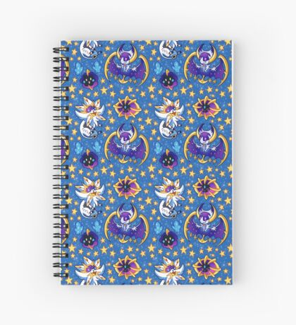 Solgaleo and Lunala Spiral Notebook