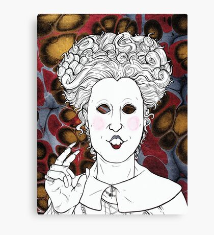 Winifred Sanderson, the Eldest Sister Canvas Print