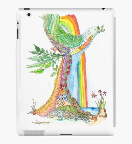 Tree of Life #19 - Peace Bird iPad Case/Skin