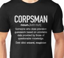 Corpsman Definition Funny T-shirt Unisex T-Shirt
