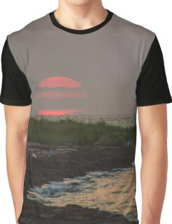 Pink Sunrise | Great River, New York  Graphic T-Shirt
