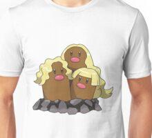 Alolan Dugtrio Unisex T-Shirt