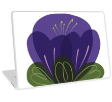 Moon Flower Laptop Skin