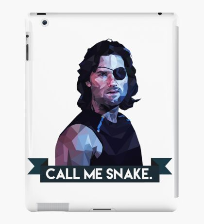 Snake Plissken iPad Case/Skin