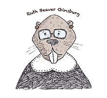 Ruth Beaver Ginsburg Photographic Print