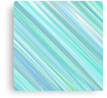 Painted Blue and Green Background Canvas Print