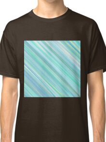 Painted Blue and Green Background Classic T-Shirt