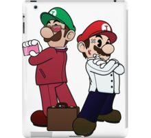 Mario Bros vs Fight Club iPad Case/Skin