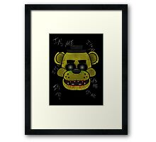 Golden Freddy (Five Night's at Freddy's) Framed Print