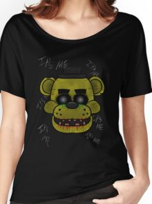 Golden Freddy (Five Night's at Freddy's) Women's Relaxed Fit T-Shirt