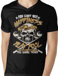 Billiards Shirt 2017 Mens V-Neck T-Shirt