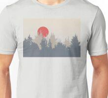 Smokey Dawn in Washington Unisex T-Shirt