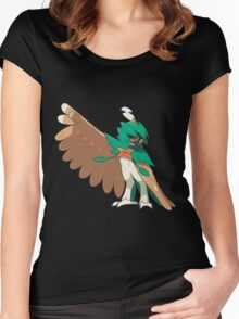 Decidueye / Junaiper Women's Fitted Scoop T-Shirt