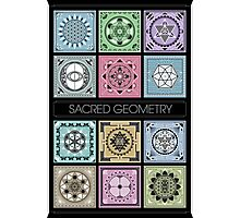 SACRED GEOMETRY - ARCHITECTURE OF THE UNIVERSE Photographic Print