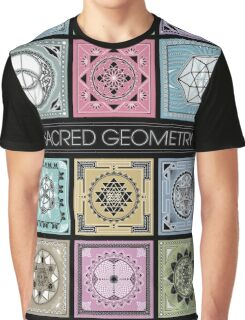 SACRED GEOMETRY - ARCHITECTURE OF THE UNIVERSE Graphic T-Shirt