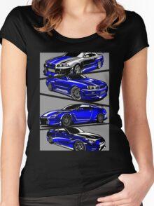 Paul Walker GTR Women's Fitted Scoop T-Shirt