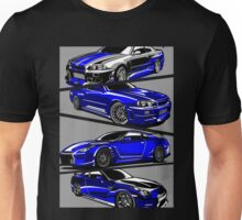 Paul Walker GTR Unisex T-Shirt
