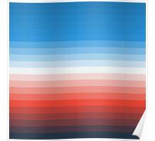 Retro Stripes Poster