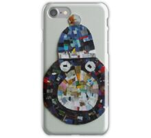A penguin with a hat iPhone Case/Skin