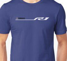 Yamaha R1 Design White Unisex T-Shirt