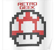 Retro Geek - Get Big Poster