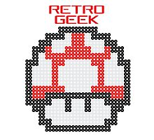 Retro Geek - Get Big Photographic Print