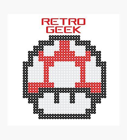 Retro Geek - Get Big Photographic Print