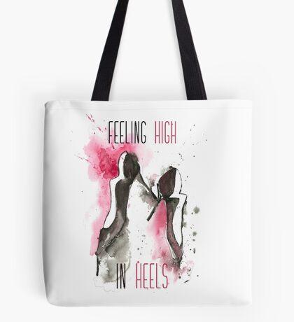 High in Heels Tote Bag