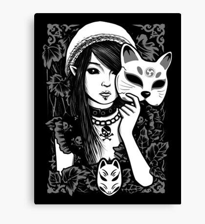 Elf Cat Canvas Print