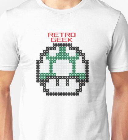 Retro Geek - One Up Unisex T-Shirt