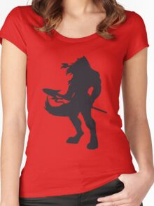 The Smoke Keeper: Corruption Women's Fitted Scoop T-Shirt