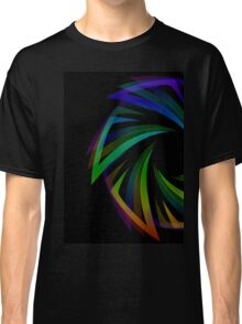 Abstract futuristic design element  Classic T-Shirt