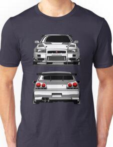 Nissan GTR R34 Unisex T-Shirt