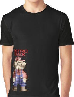 Retro Geek - Mario Graphic T-Shirt